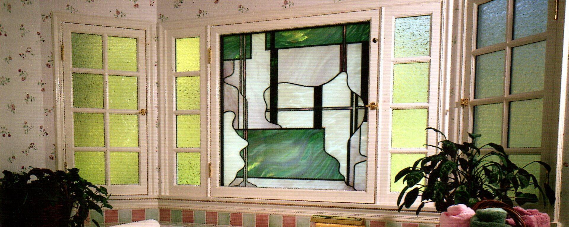 شیشه تزئینی